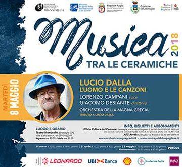 """Tributo a Lucio Dalla per """"Musica tra le Ceramiche"""""""