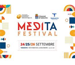 MediTa, Festival della cultura (24, 25, 26 settembre – Rotonda del Lungomare)