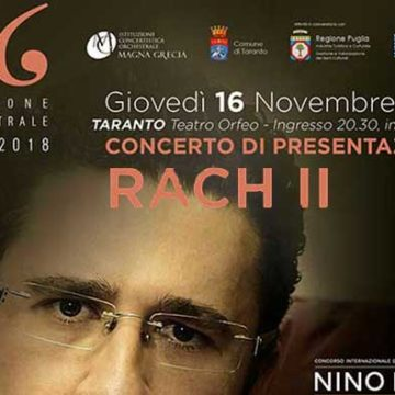 """TARANTO La XXVI stagione di """"Eventi musicali"""" dell'Orchestra Magna Grecia svela il fascino del pianoforte il 16 novembre al teatro Orfeo"""