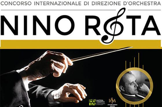 """Concorso Internazionale di Direzione d'Orchestra """"Nino Rota"""""""