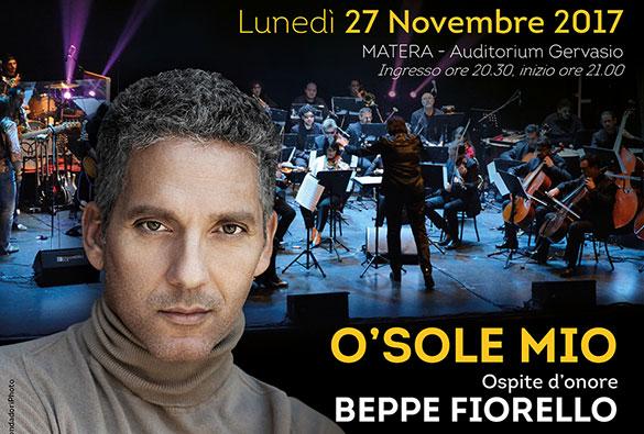 """MATERA – Giuseppe Fiorello sarà la guest star del concerto di inaugurazione della stagione """"Matera in Musica"""" dell'Orchestra della Magna Grecia"""