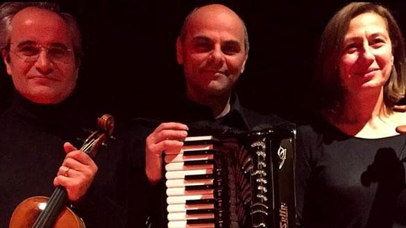 TARANTO – Musica classica e tango con il Trio Accord sabato a Palazzo di Città