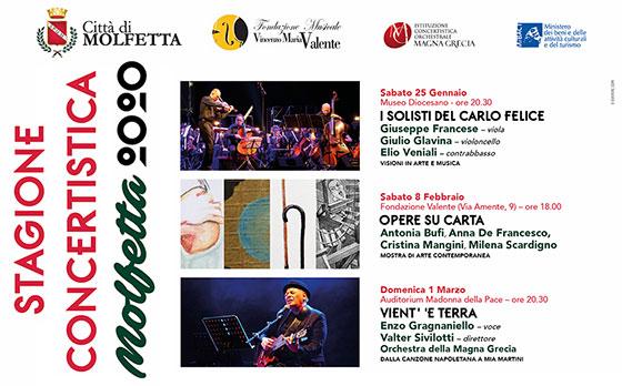 """""""Stagione Concertistica"""" Molfetta 2020"""