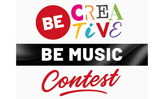 """BE CREATIVE, BE MUSIC"""