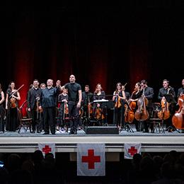 Concerto dell'Orchestra della Magna Grecia per la Croce Rossa Italiana