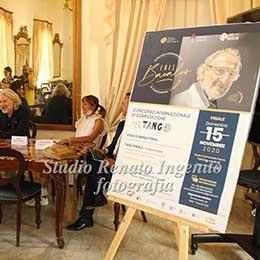 Premio Internazionale Bacalov, Conferenza stampa