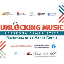 """Venerdì 19 marzo, """"Unlocking Music"""" in streaming con ensemble dell'Orchestra della Magna Grecia"""