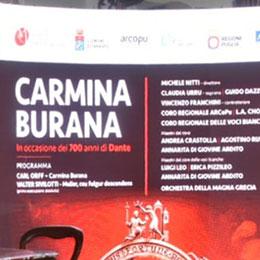 """Carmina Burana"" , tutto esaurito"
