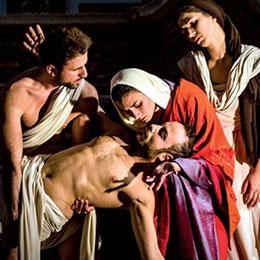 Sabato 16 e domenica 17, Tableaux vivants al Castello aragonese (Aspettando il Mysterium)
